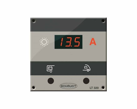 EPSolar MT-50 Monitor + 2 meter kabel SCHAUDT-LT320