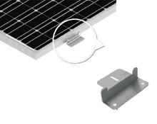 Aluminium steunen glaspaneel (6 stuks)
