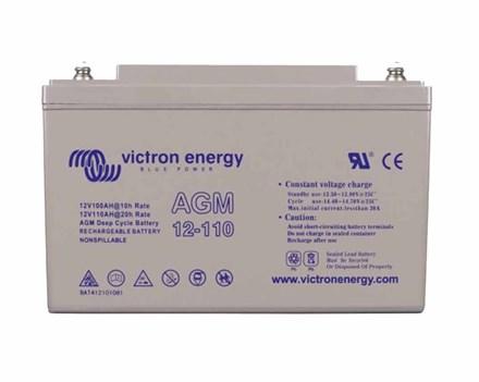 Victron AGM Accu 90Ah (12V) M6 Insert VICBAT12V110AH-M8-INSERT